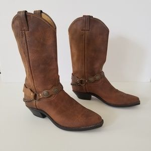 Albilene Brown Cowgirl boots size 7M